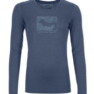 ORTOVOX 185 MERINO CONTRAST Langarm Shirt W