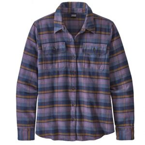 Patagonia W's L/S Fjord Flannel Shirt-Hemd