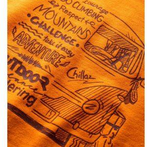 Chillaz Lettering Bus T-Shirt Men