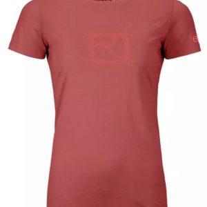 Ortovox Damen 150 Cool Leaves T-Shirt