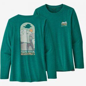 Patagonia Damen L/S Cap Cool Daisy Graphic Shirt